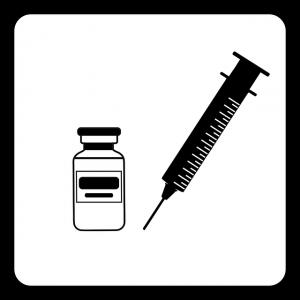Symbol - Grafik Corona Impfung